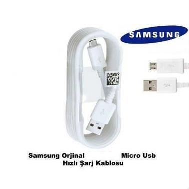 Samsung Samsung Orijinal  Usb Veri Kablosu Beyaz - ECB-DU4EWEGSTD Renkli